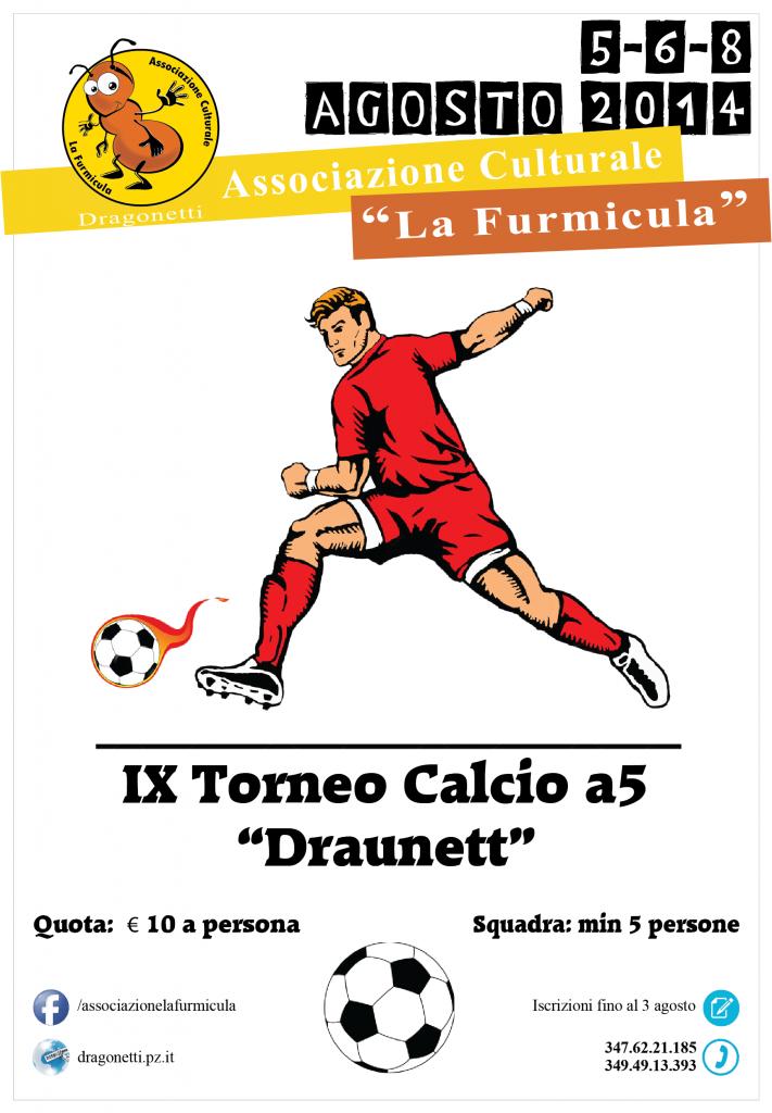 2014 torneo calcetto a5