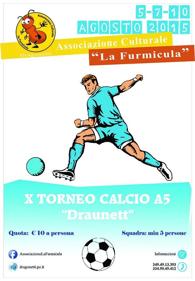 Torneo di calcio A5 Dragonetti 2015