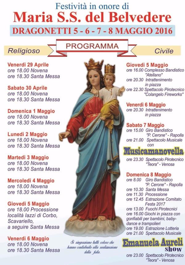 Festa Dragonetti 2016