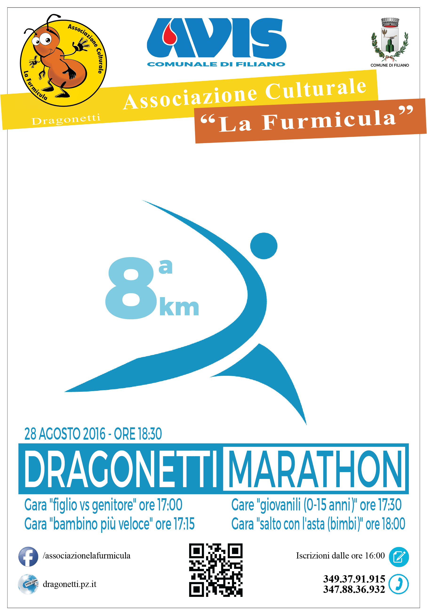 2016 maratona di Dragonetti 8km